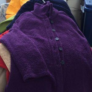 Poodle purple jacket, M